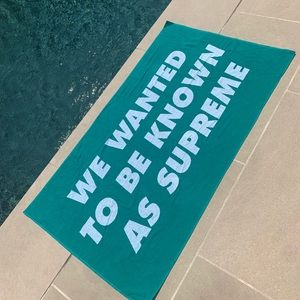 NWT Supreme Known As Towel - Turquoise